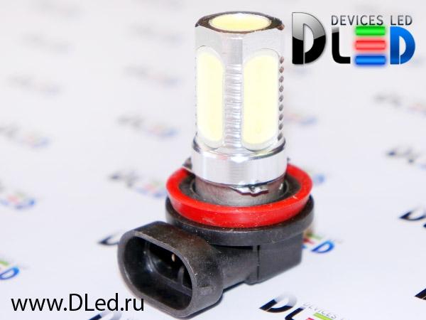Купить светодиодные лампы H11 Диодные лампы H11