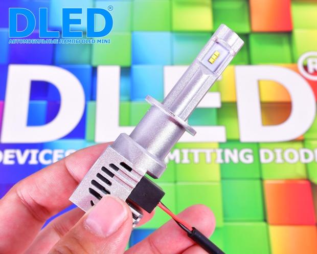 Светодиодные автомобильные лампы H1 Mini
