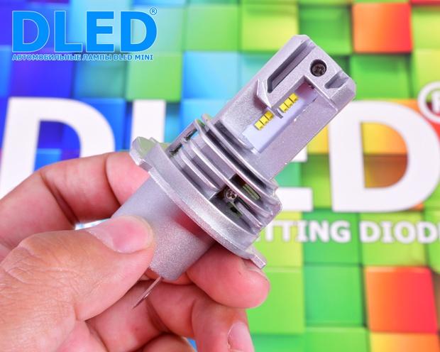 Светодиодные автомобильные лампы H4 Mini