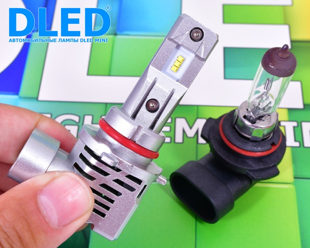 Автолампа светодиодная HB4 DLED Mini
