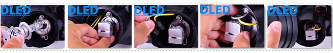 Установке светодиодных автомобильных ламп серии DLED Mini