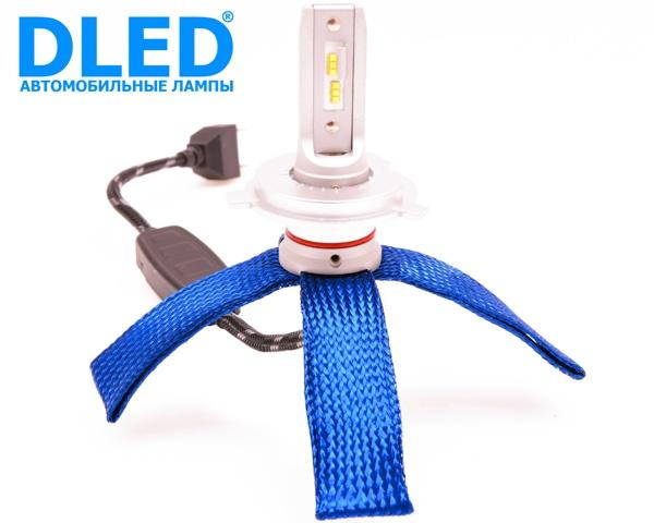 Светодиодная автомобильная лампа H4 SMART3 DLED