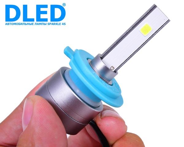 DLED Sparkle 4s светодиодные автомобильные лампы h7
