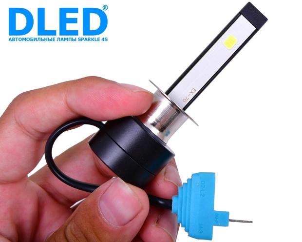 Светодиодные автомобильные лампы H1 Sparkle 4S