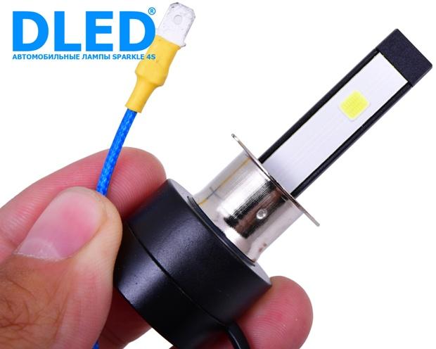 Светодиодные автомобильные лампы H3 Sparkle 4S