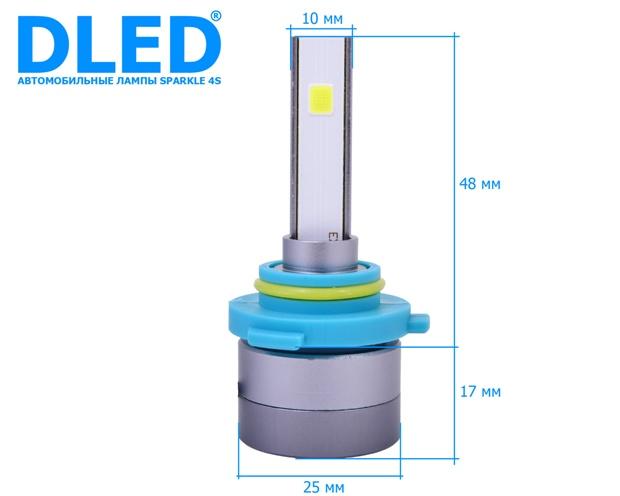 Светодиодные автомобильные лампы HB4 9006 Sparkle 4S