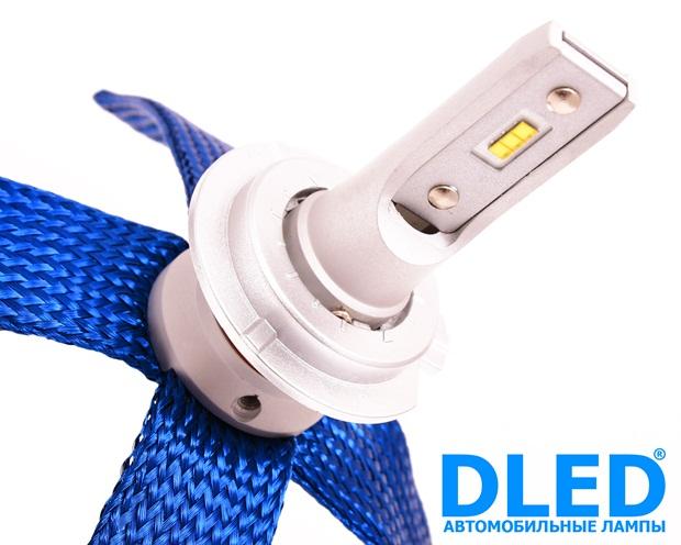 Светодиодная автомобильная лампа  H7 SMART 3 DLED