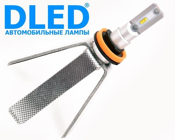 Автомобильная светодиодная лампа H11 SMART2 DLED