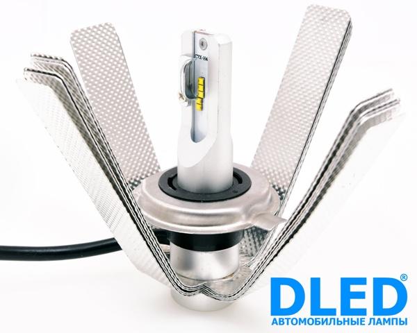 Автомобильная светодиодная лампа H4 SMART2 DLED