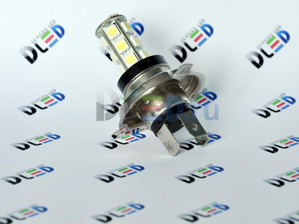 схема лампы h4 led