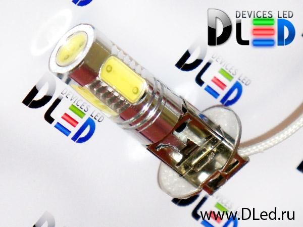 мощные светодиодные автомобильные лампы на кластерных светодиодах